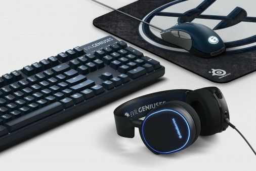 Steelseries' latest gaming peripherals are designed with Evil Geniuses in mind