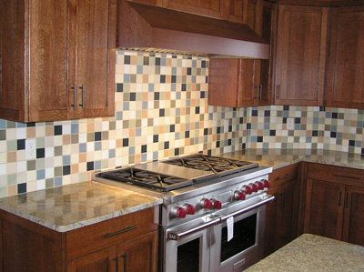 tiling all the way up to cabinets tile designkitchen - Kitchen Tile Design Ideas