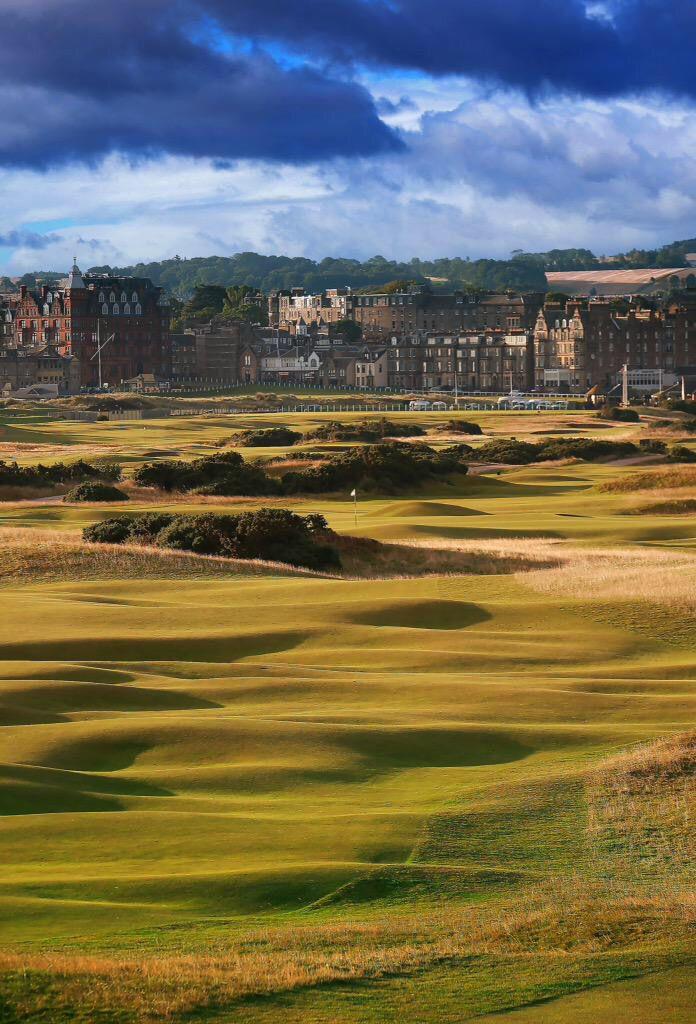 St. Andrews Golf Links, Scotland.