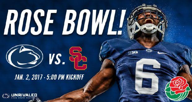USC vs Penn State Rose Bowl live stream | Live Football Game Online