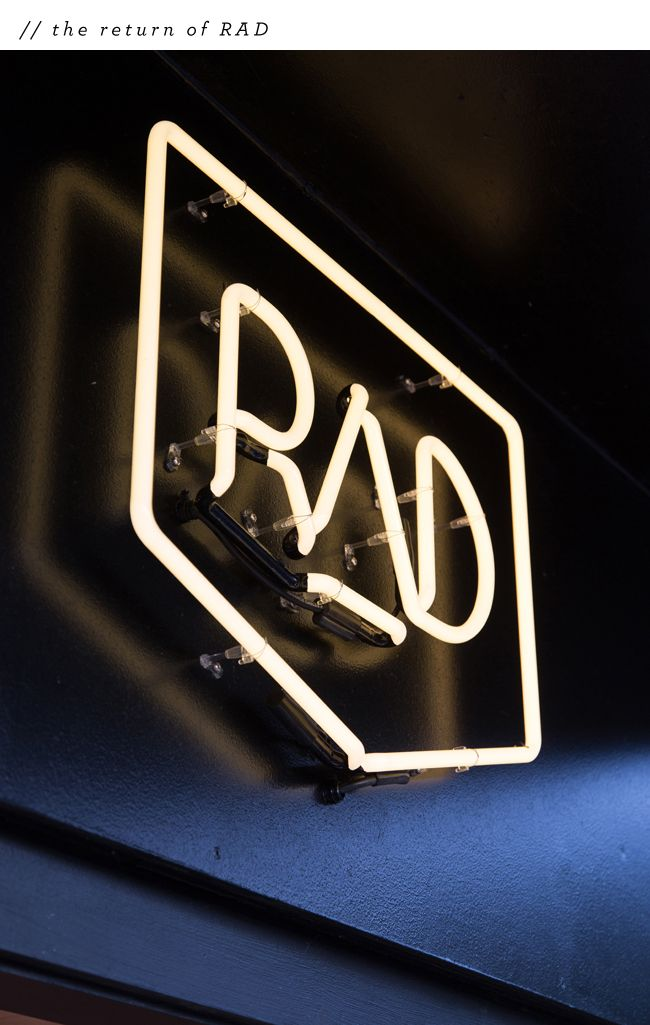The Return Of Rad - Rad cafe, Auckland - interior design by Material Creative