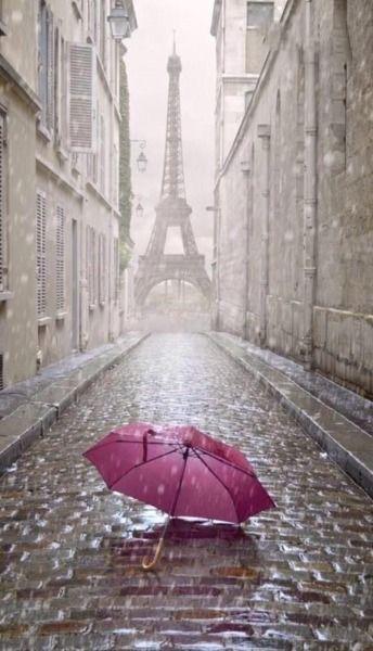 I love Paris when it drizzles...