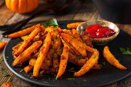 Kürbispommes: Perfekte Beilage für Ihre Ernährung   – Essen und Trinken