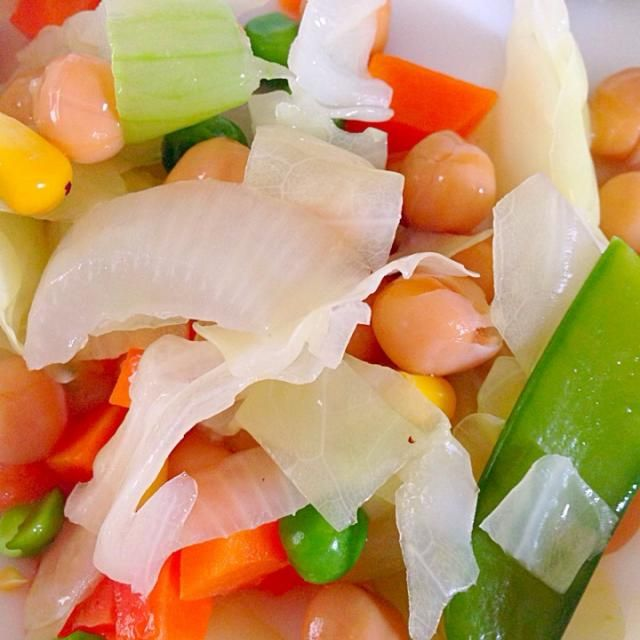 腹持ち ダイエットにも♩ - 5件のもぐもぐ - ひよこ豆のサラダ by ayataros