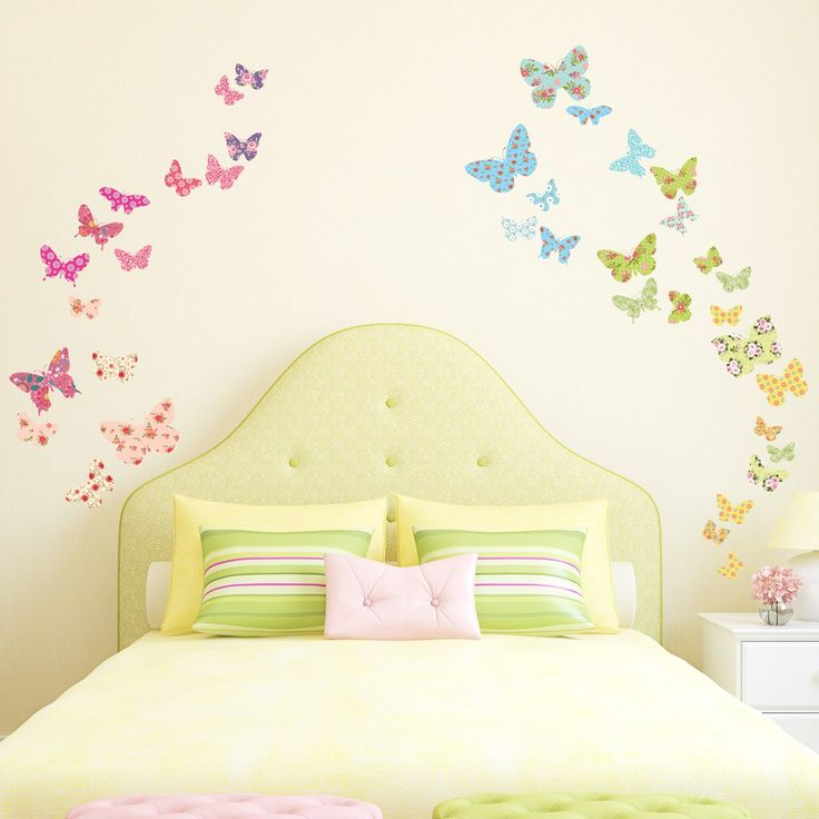best 25 butterfly wall stickers ideas on pinterest butterfly flowers custom personalised name wall stickers