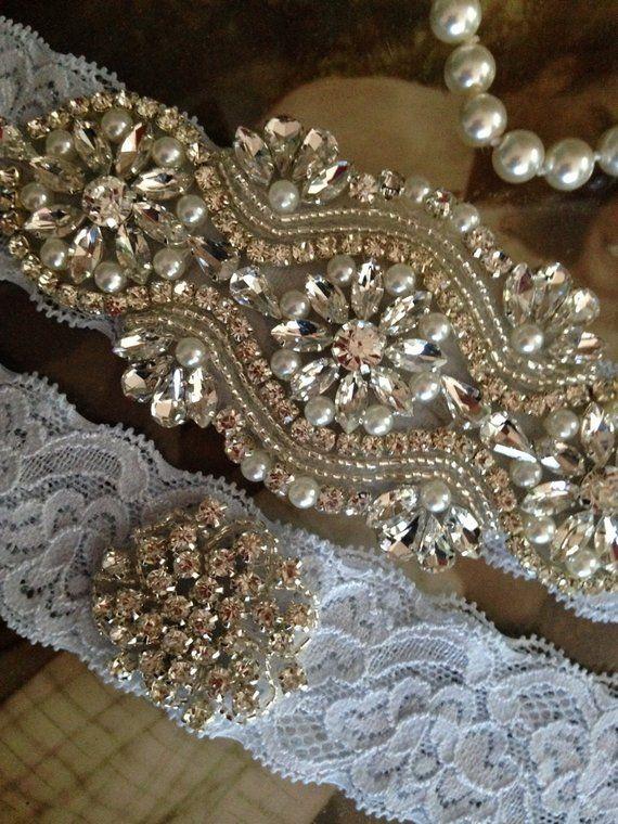 72c7663c40b Wedding garter belt bridal garter wedding garter set something blue ...
