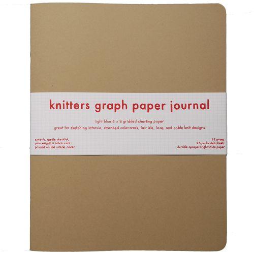 Knitting Journal Char Loving : Knitters graph paper journal general love pinterest