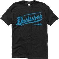 Quiksilver Men's Left Hook T-Shirt, Black, Large