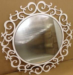 Зеркало белое, Зеркало в спальню, туалетный столик с зеркалом купить