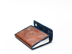 Combining traditional leatherwork with 100% tree-free paper, this journal is unique in every sense of the word!