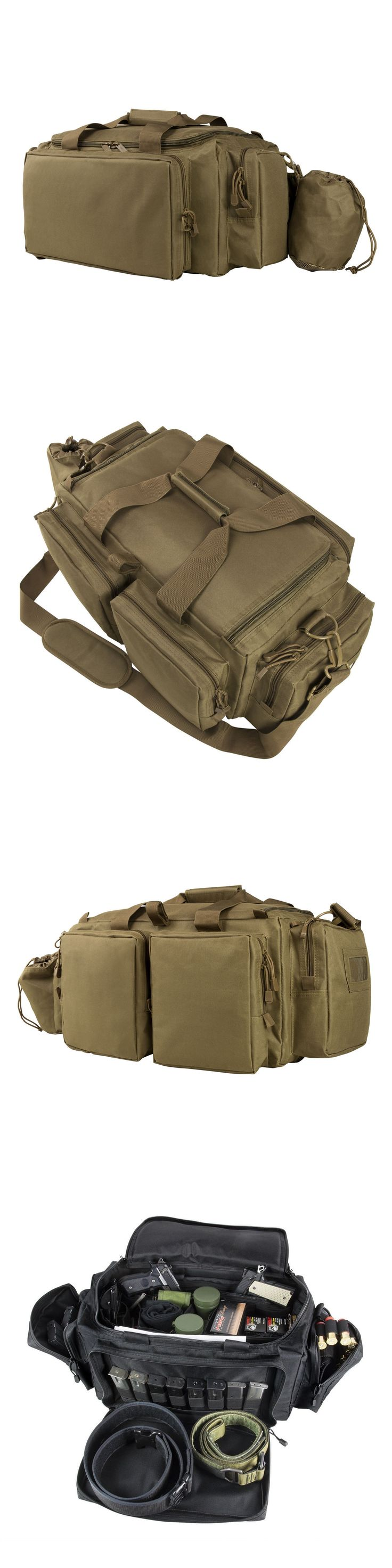 Range Gear 177905: Ncstar Cverb2930t Heavy Duty Tan Expert Professional Series Shooting Range Bag -> BUY IT NOW ONLY: $69.99 on eBay!