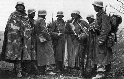 Magyar királyi honvédek 1944-ben Ukrajnában