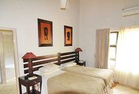 A room in the one-star Satara Rest Camp | Kruger National Park, South Africa