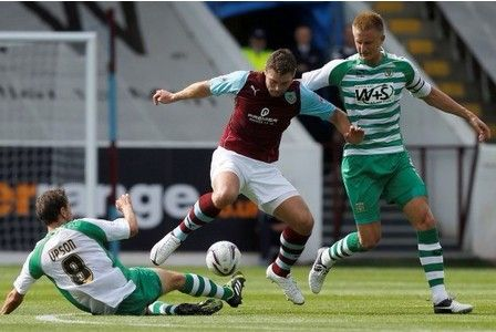 REPORT: Burnley 2 Yeovil Town 0