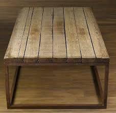 mesas de hierro negro y madera - Buscar con Google