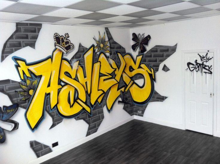 Mural Graffiti Shop Interior Hire Uk