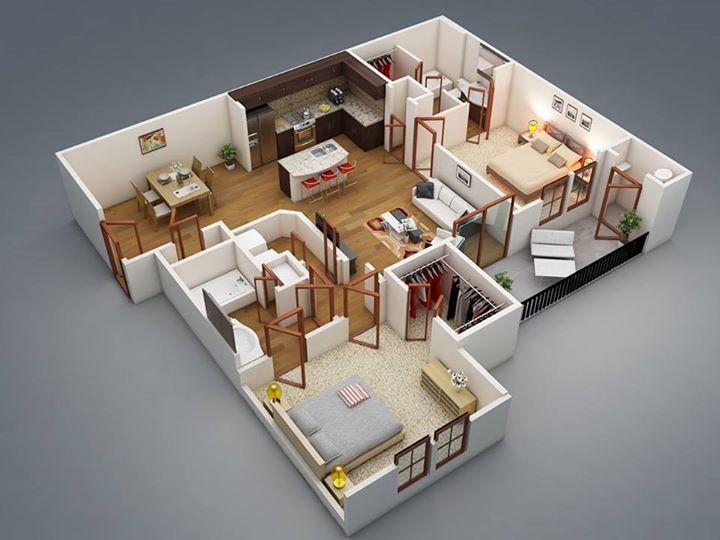Two Bedroom House Design Pictures Fascinating 19 Best Plansimages On Pinterest  Floor Plans Homes And Decorating Inspiration