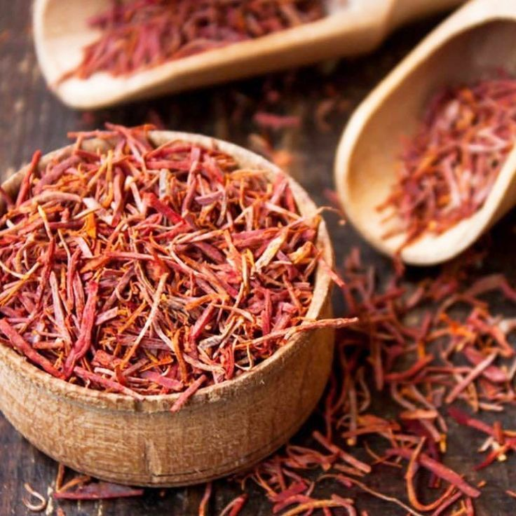 Tip Tuesday - Saffron is one of the highly-prized spices in the world  known for its color flavor and medicinal benefits: Manganese helps regulate blood sugar metabolize carbohydrates and absorb calcium. It also helps form tissues bones and sex hormones. Vitamin C is an infection fighter; iron purifies your blood; and the vitamin B6 content helps form red blood cells and assures nerves will function as they should. Potassium helps balance fluids in cells which if low can cause painful muscle…