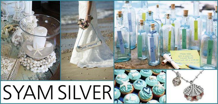 Esküvő a tengerparton - Guess nyaklánccal