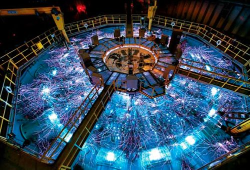 Tetravon. Mysterious particle at Fermilab may be hinting at a previously unidentified force of nature   The physics world is buzzing with news of an unexpected sighting at Fermilab's Tevatron collider in Illinois – a glimpse of an unidentified particle that, should it prove to be real, will radically alter physicists' prevailing ideas about how nature works and how particles get their mass.