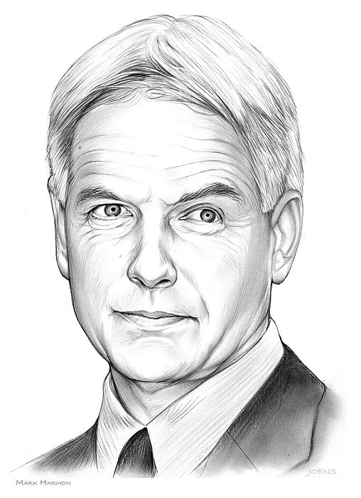Mark Harmon - Pencil Sketch of the Day. Monday, June 26, 2017  (born September 2, 1951) is an American television and film actor. He has appeared in a wide variety of roles since the early 1970s.  Harmon gained recognition for portraying Secret Service special agent Simon Donovan in The West Wing, receiving a 2002 Emmy Award nomination for his acting in the four-episode story arc.  Harmon was cast in a similar role a year later: Donald P. Bellisario—the creator of both JAG and NCIS for…