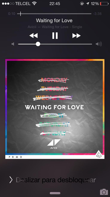 Waitin' for love....
