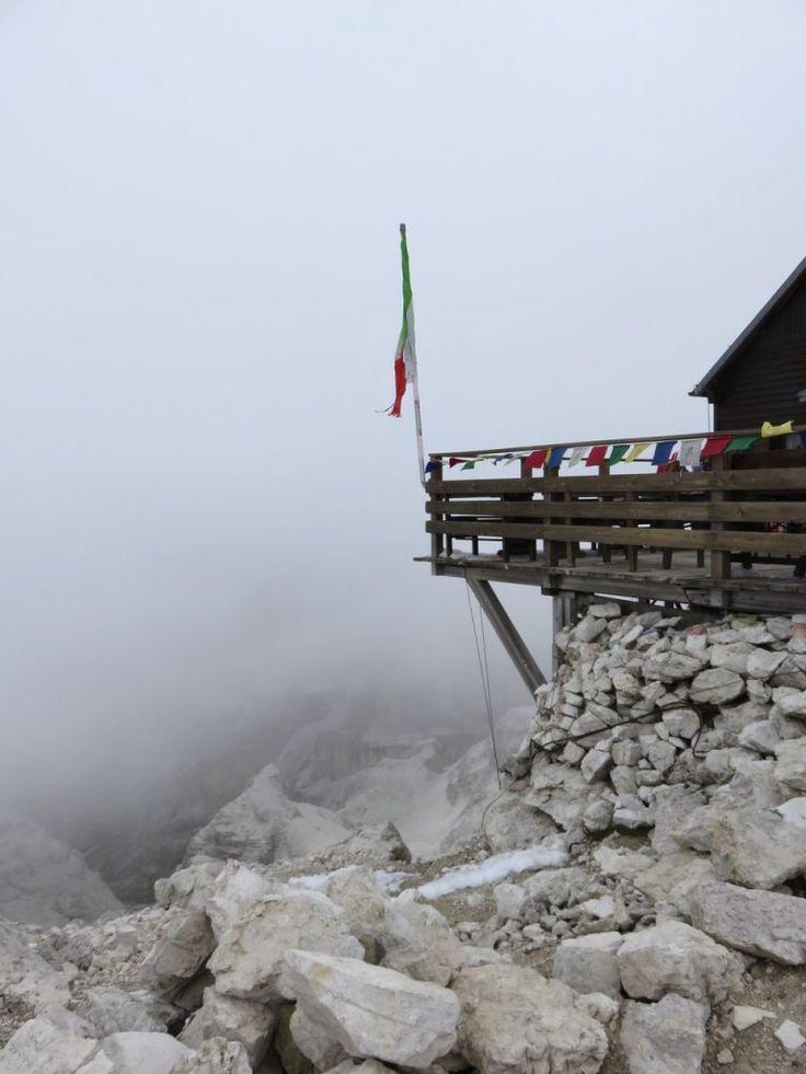 Rifugio Capanna Fassa, oltre i 3000 metri del Piz Boè