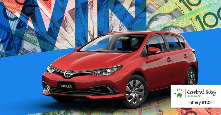 Raffle #102: The first prize Winner can choose between a TOYOTA COROLLA ASCENT HATCH or $20,000 CASH https://aspirecharitygaming.com/cerebral-palsy-alliance-ra…/ #carprize #winacar #cerebralpalsy #aspirecharitygaming #raffle #lotto #charity