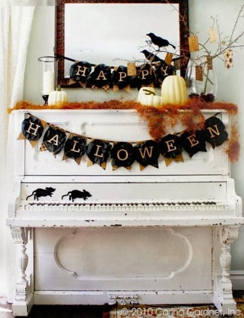 I have this crazy idea for a mantel made with an old piano!!! It would be amazing!