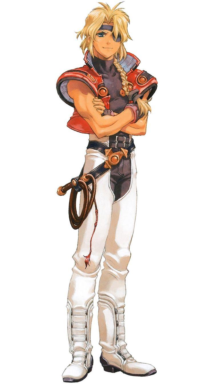 Xenogears Character Design : Bart bartholomew fatima xenogears art references