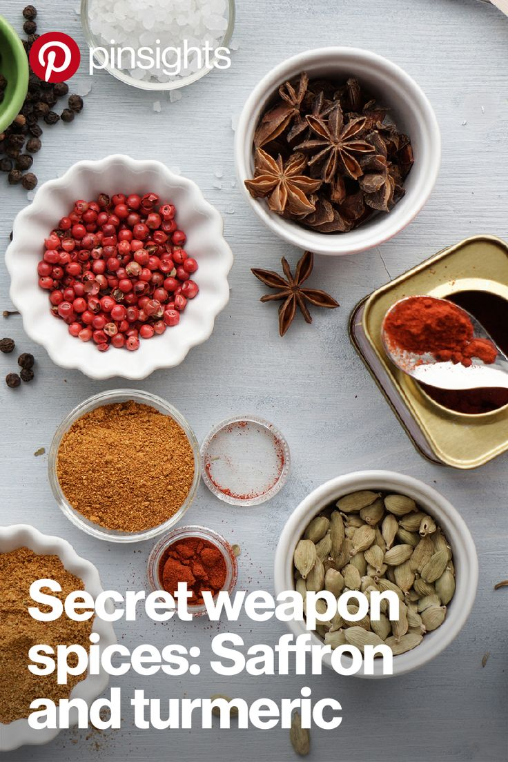 The flavor report for 2016 is here, and it's GOOD. Get creative in your kitchen with the top recipes saved and savored on Pinterest. Take this cake, for example. It's just one of the many creations made with saffron and turmeric—your new secret weapon spices. Tap to see all the recipes, and let us know what your favorite is.