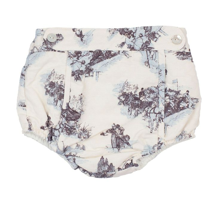 Jacquard Blue Bloomers from Lace & Ribbons