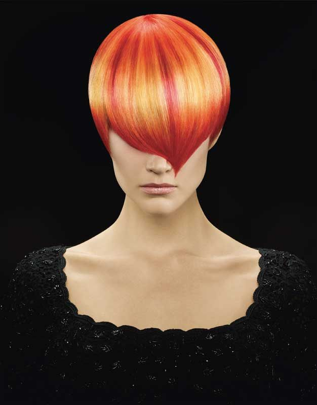 Melting Points Hairstyle Designer Collection Hair Color Placement Vivid Hair Color Hair Shows