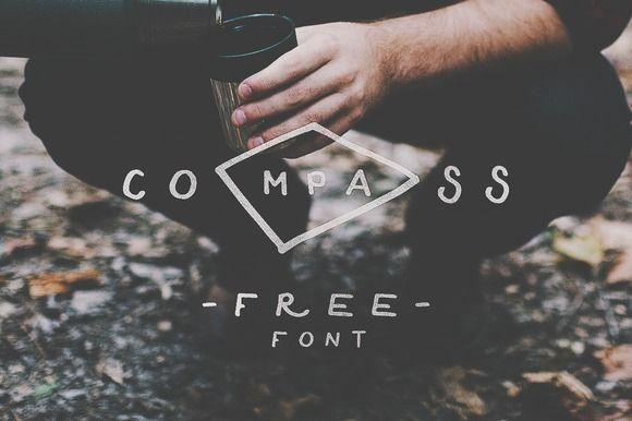 Compass Free Font by Noe Araujo on Creative Market