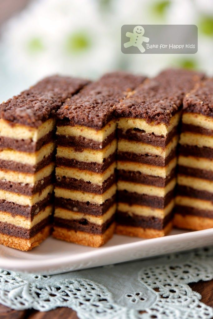 Bake for Happy Kids: Chocolate Vanilla Kek Lapis / Lapis Legit / Spekkoek/ Indonesian Layer Cake