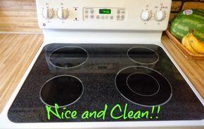 Καθαρίστε τις εστίες της κεραμικής σας κουζίνας με την βοήθεια της μαγειρικής σόδας! | Φτιάξτο μόνος σου - Κατασκευές DIY - Do it yourself