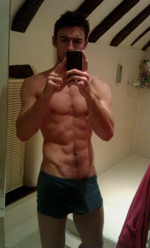 hot guys with phones men in the mirror selfies http