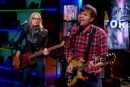 Video: Ben Gibbard Duets With Aimee Mann on 'Colbert' | Rolling Stone