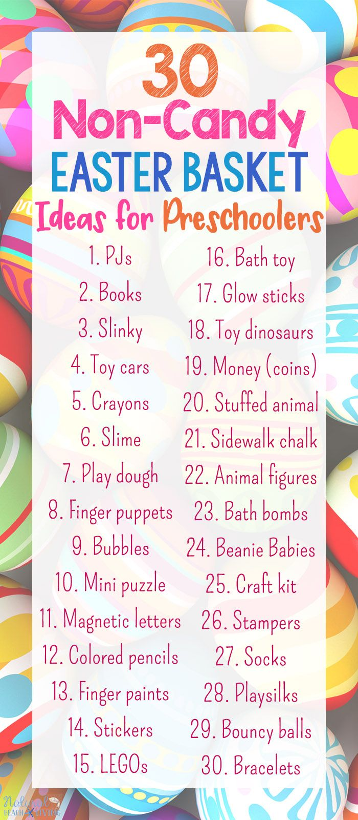 1613 best gift guides for kids images on pinterest family game 30 perfect non candy easter basket ideas for preschoolers negle Choice Image