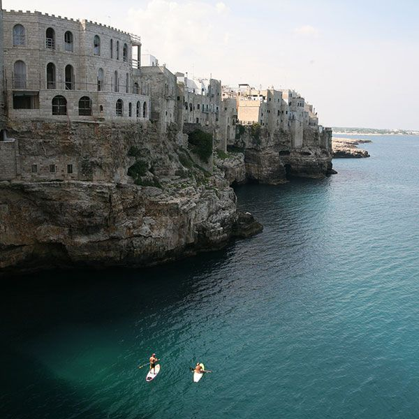 #Polignano a Mare zählt zu den beliebtesten Ferienorten in #Apulien #Reisen #Tourismus  #Italien #Urlaub #Führungen