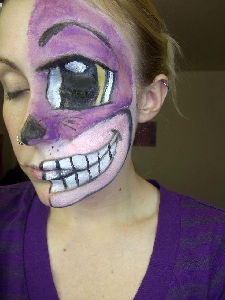 Cheshire Cat Face Paint Pinterest