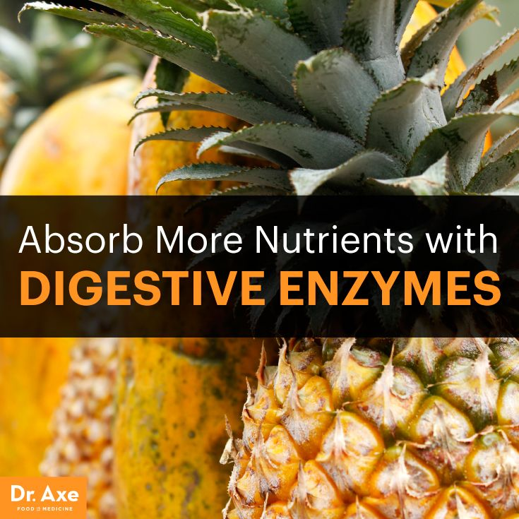 Absorb More Nutrients with Digestive Enzymes