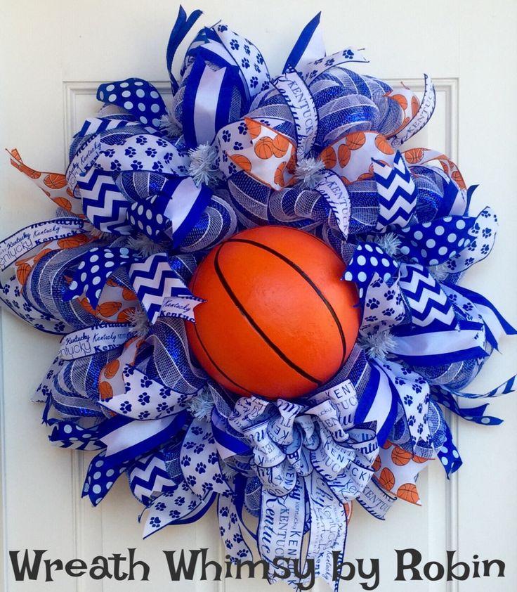 25 Best Ideas About Sports Wreaths On Pinterest