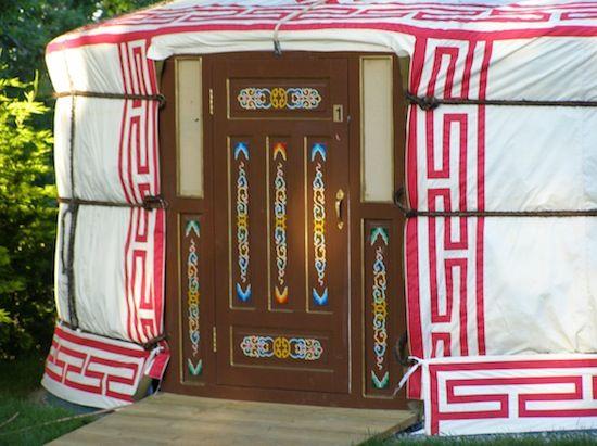 mongolian yurt door - Google Search