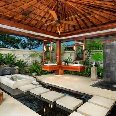 Tropical Home Design, Pictures, Remodel, Decor And Ideas