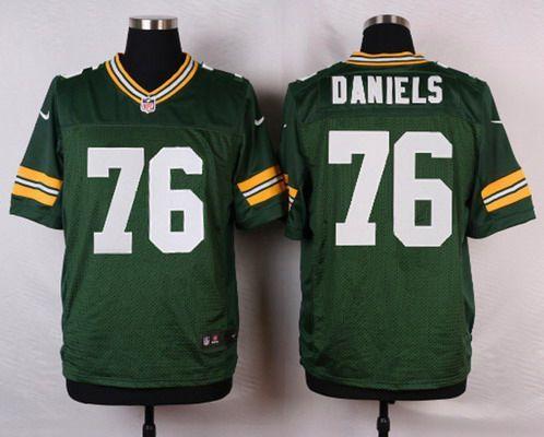 Jerseys NFL Outlet - Green Bay Packers #76 Mike Daniels Green Team Color NFL Nike Elite ...