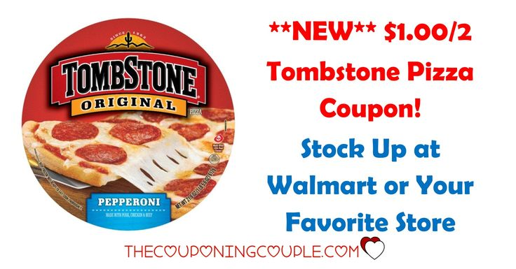 *RARE* Tombstone Pizza coupons! Print now! Use at Walmart to grab some pizzas for only $2.00 each or use at your favorite store!  Click the link below to get all of the details ► http://www.thecouponingcouple.com/rare-1-002-tombstone-pizza-coupon-deal/  #Coupons #Couponing #CouponCommunity  Visit us at http://www.thecouponingcouple.com for more great posts!
