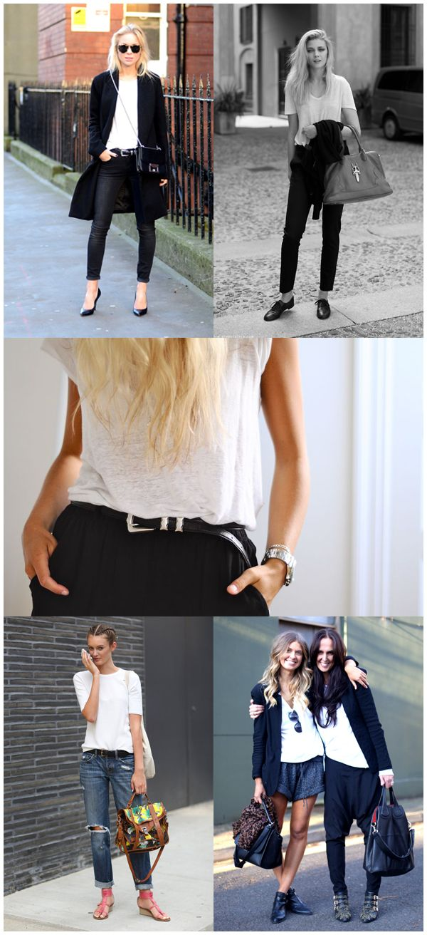 How To Style & Wear White T-shirt - StyleAndMinimalism.com