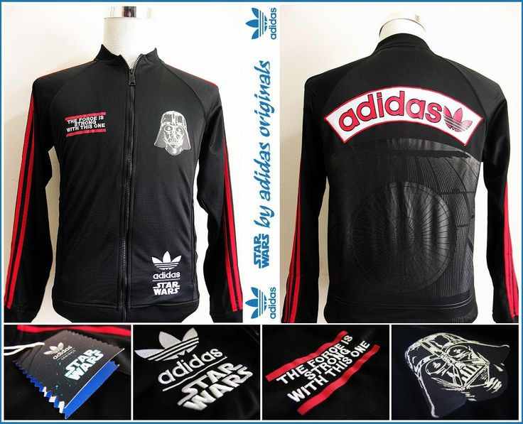 adidas star wars jacket darth vader