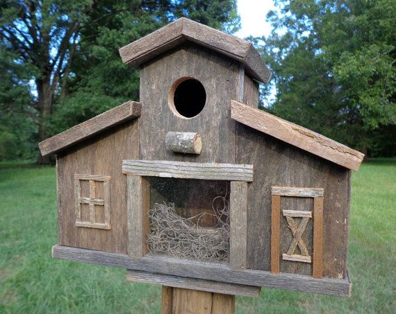 Build barn birdhouse woodworking projects plans for Rustic barn plans
